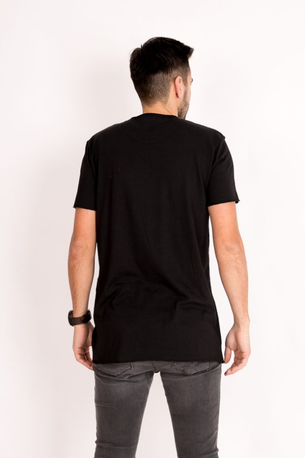 Camiseta simple black long