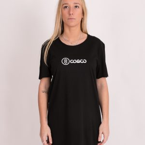 Camiseta simple black long