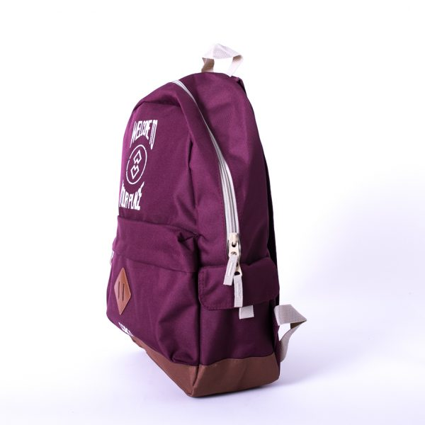 Mochila burgundy welcome